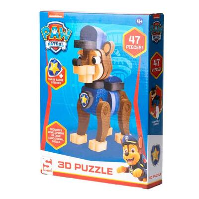 Paw Patrol Puslespil 3D Chase