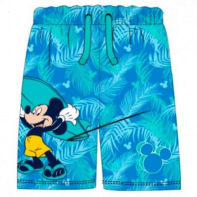 Mickey Mouse Badeshorts Surfing Blå