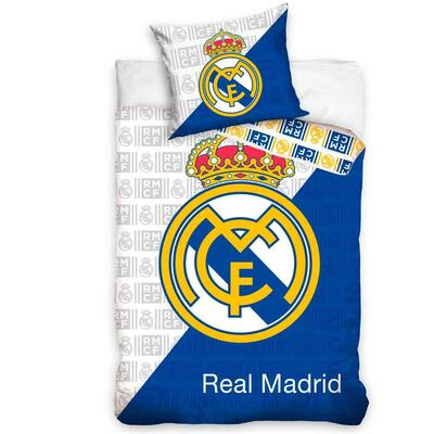 Real Madrid Sengetøj Logo 140x200