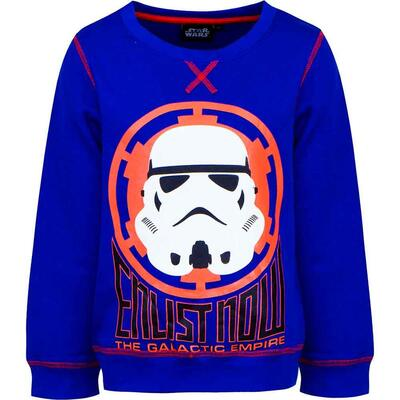Star Wars Sweatshirt Galactic Empire Blå