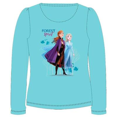 Disney Frost T-shirt Aqua Forest Spirit