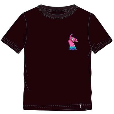 Fortnite T-Shirt Kort Lama Sort