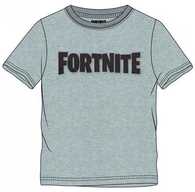 Fortnite Kort T-Shirt Grå Logo