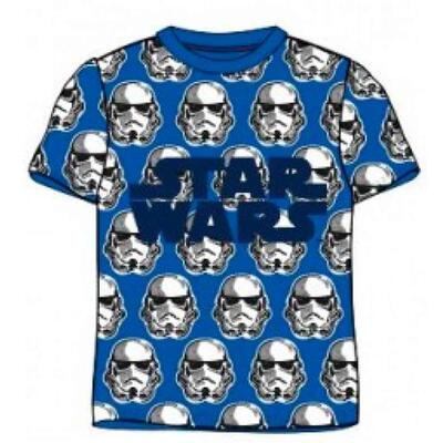 Star Wars T-Shirt Kort Blå Storm Trooper