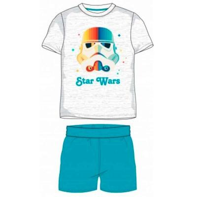 Star Wars Kort Pyjamas Grå Turkis