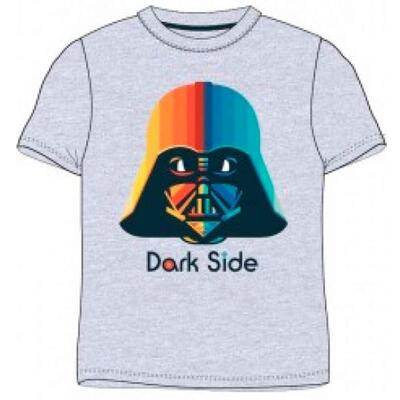 Star Wars Kortærmet T-Shirt Grå Dark Side