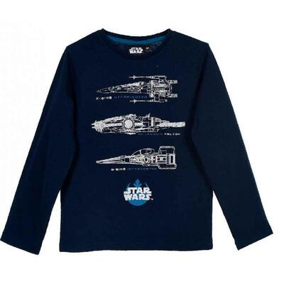 Star Wars Langærmet T-Shirt med Applikation