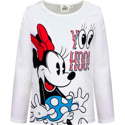 Minnie Mouse T-Shirt Organic Hvid