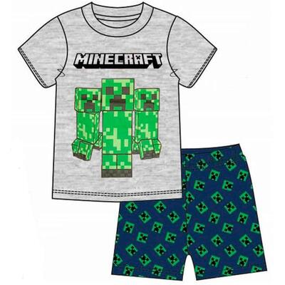 Minecraft Sommer Pyjamas Creeper