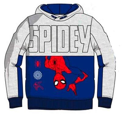 Spiderman Sweatshirt med Hætte Spidey Blå