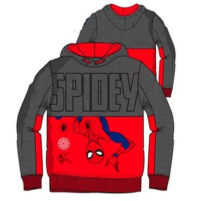 Spiderman Sweat Hættetrøje Spidey Rød