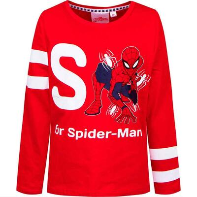 Spiderman T-Shirt Rød S for Spider-man