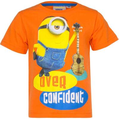 Minions Kort T-shirt Orange Confident