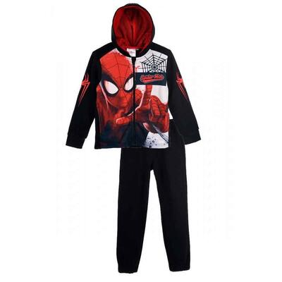 Marvel Spiderman Joggingsæt Sort