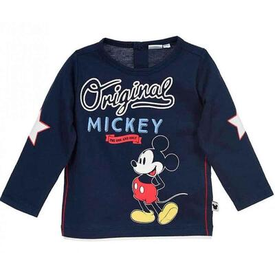 Mickey Mouse Retro T-Shirt Navy