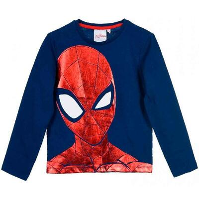 Spiderman T-Shirt Langærmet Navy