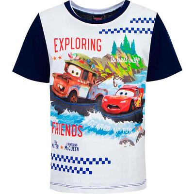 Disney Cars T-Shirt Exploring Friends