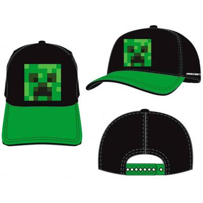 Minecraft Kasket Pixel Creeper