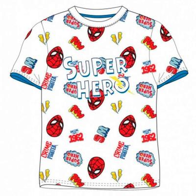 Spiderman Kort T-Shirt SuperHero