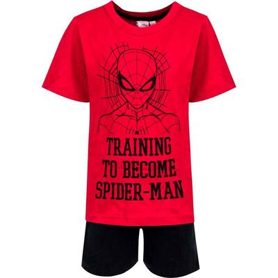 Spiderman Sommer Pyjamas Training