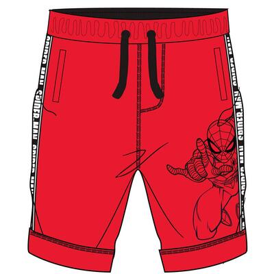 Marvel Spiderman Shorts Rød