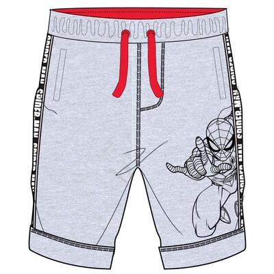 Marvel Spiderman Shorts Grå