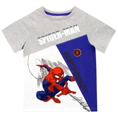 Spiderman Kort T-Shirt Responsibility