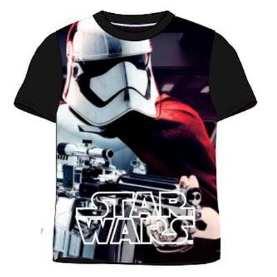 Star Wars T-Shirt Stormtrooper Sort