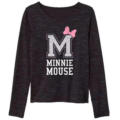 Minnie Mouse Bluse Mørkegrå