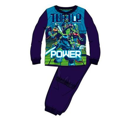 Ninja Turtles Pyjamas Power Blå
