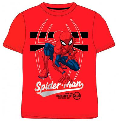 Spiderman Kort T-Shirt Rød