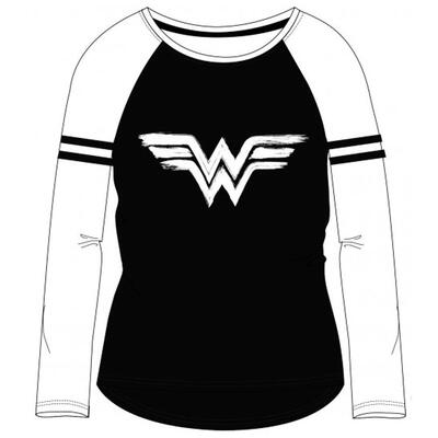 Wonder Woman Langærmet T-Shirt