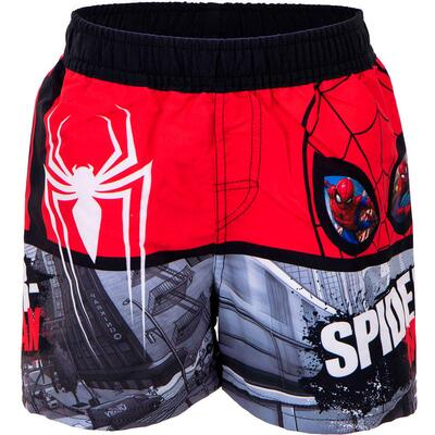 Marvel Spiderman Badeshorts Rød Sort