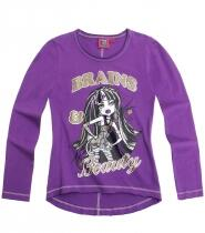 Monster High langærmet T-shirt lilla - Cleo de Nile